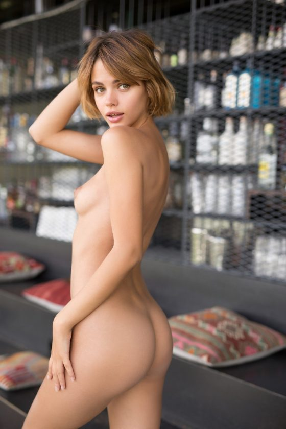 Ariel Nude In Playing Cool Playboy Model Photos