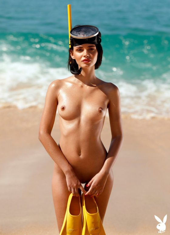Ariel Nude In Playboy Portugal Model Photos